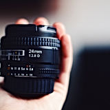 Obiettivo di macchina fotografica della