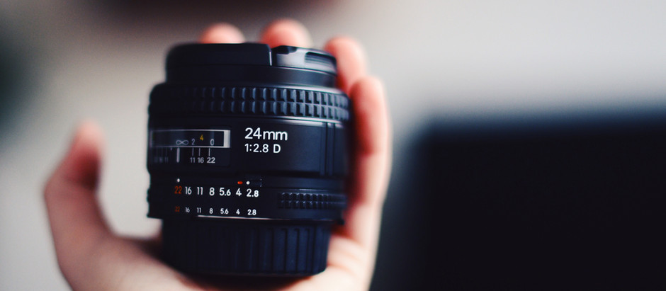 Working with my new high focus lens
