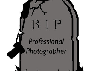 R.I.P. to the Professional Photographer?