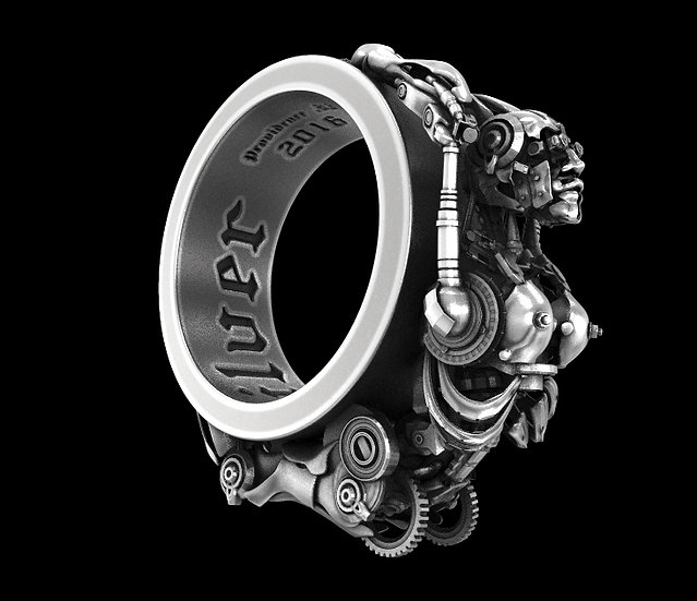 Female Cyborg Ring
