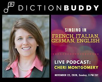 Cheri Montgomery DictionBuddy Podcast.pn