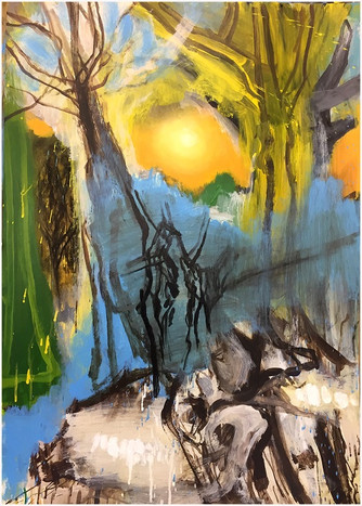 Edwin Aitken: 'A friend observed that I paint dead and useless things – rotten trees, skeletons,