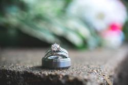Close up ring shot