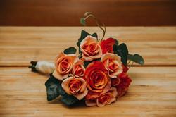 Wedding bouquet custom orangeflowers