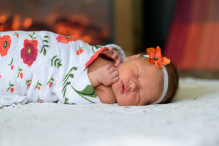 Penelope | How to go with the flow | Newborn Photographer MN