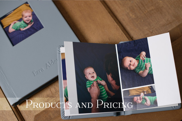 Products and Pricing for Photography
