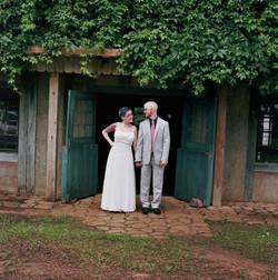 Wedding couple at MN Renaissance