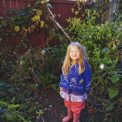 #littlepinkhousegarden end of season picture