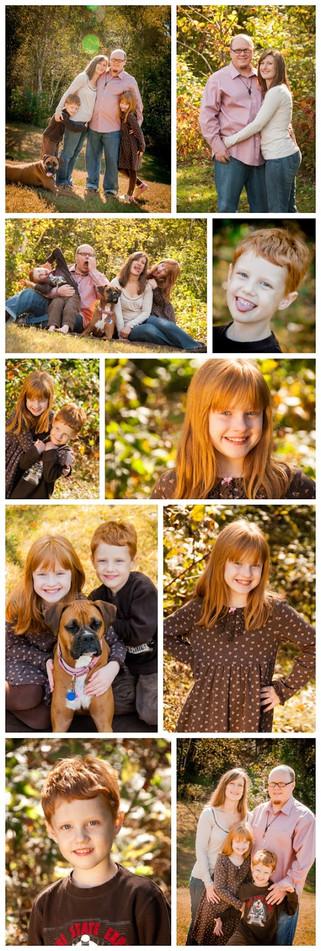 O Family - Fall Outdoor Portraits - Saint Paul Family Photographer