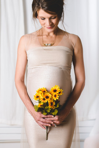 Styled Studio Maternity Portraits