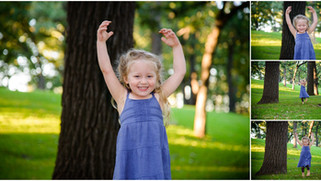 Charlotte is 3   Saint Paul Childrens Photographer