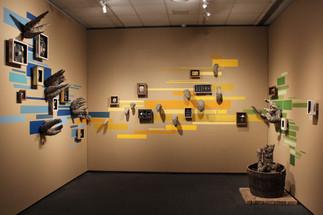 brotes de cuentos, mfa thesis exhibition, museum of fine art, florida state university, 2015.