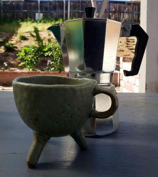untitled cup + moka pot, still life, 2020.