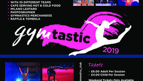 Gymtastic 2019 Tickets Now on Sale!