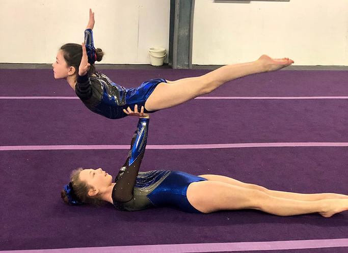Lunar Gymnastics Club Acro