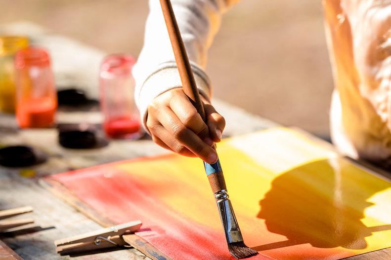 Watercolor painting Waldorf