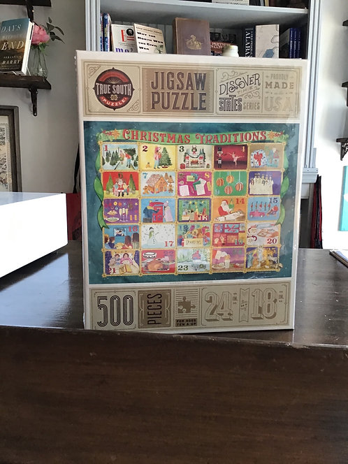 500 piece Christmas  Traditions Puzzle
