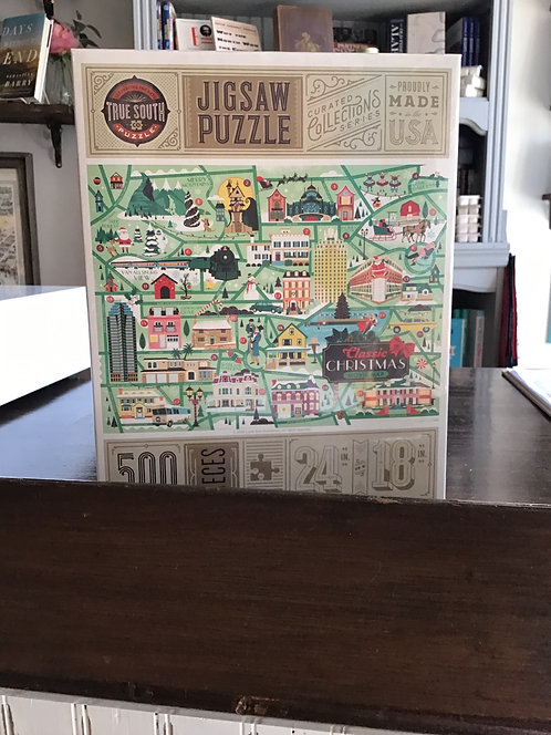 True South Christmas Classic Movie Puzzle