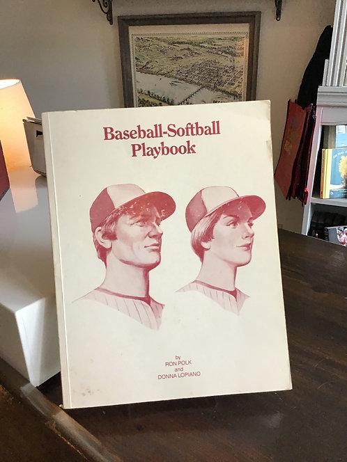 Baseball-Softbsll Playbook by Ron Polk
