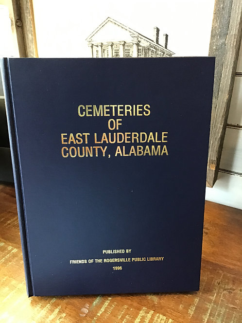 Cemeteries of East Lauderdale County, Alabama