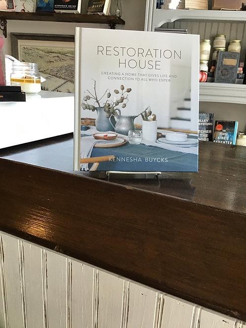 Restoration House by Kennesha Buycks