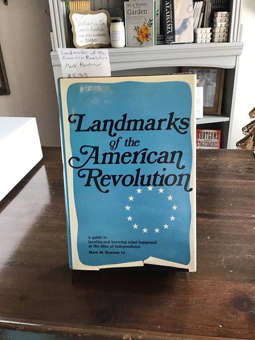 Landmarks of the American Revolution by Boatner