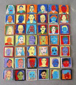 Yr 7 Pop Art Tiles