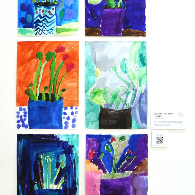 Yr 1 Watercolours