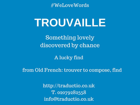 We love words - Trouvaille
