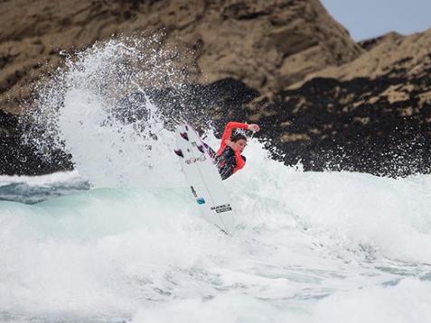 Sports massage for surfer swansea