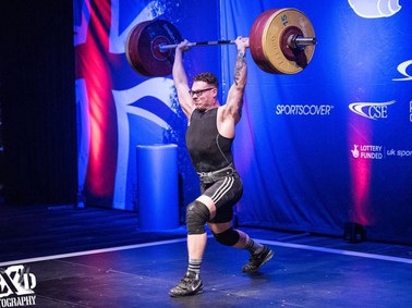 Olympic weightlifting injury helped by sports massage swansea