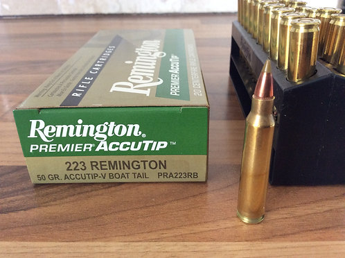 REMINGTON ACCUTIP-V BOAT TAIL 223. 50 gr