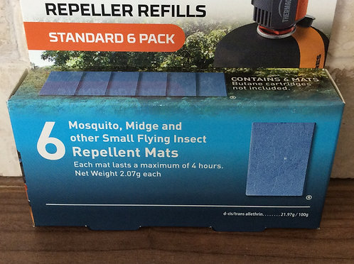 thermacell Backpacker Mosquito Midge Repellent Mat Refill Pack6