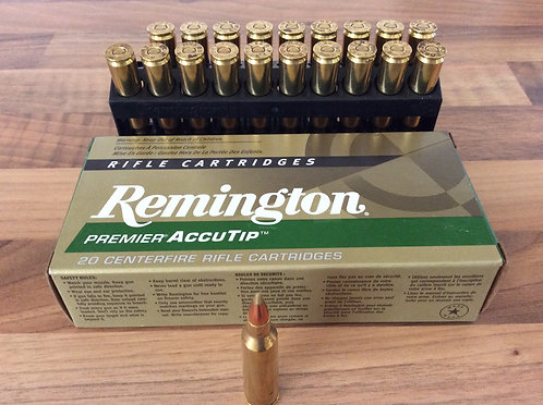 REMINGTON ACCUTIP BOAT TAIL 22-250. 55 gr