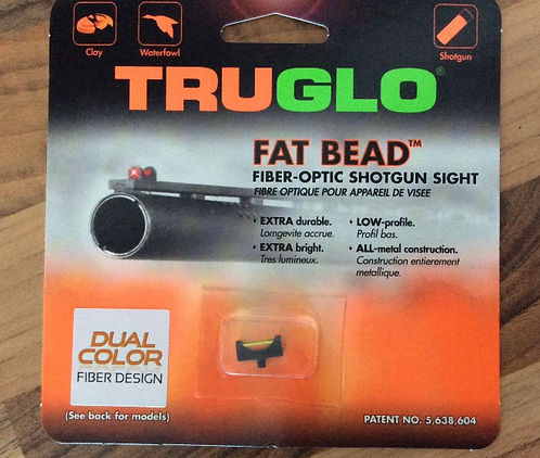 TRUGLO FAT BEAD DUAL COLOUR 2.6MM AND 3.0MM