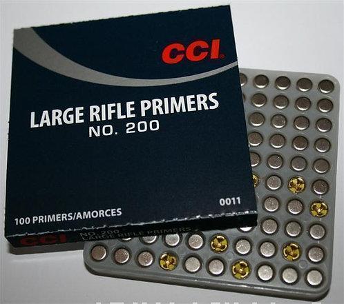 CCI No.200 Large Rifle Primers (Pkt.100)