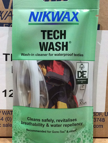 NikWax Tech Wash Cleaner and Waterproofer