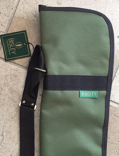 Genuine Bisley Canvas Fleece Lined Gun Cover Slip Bag for Shotgun Long 54 inch