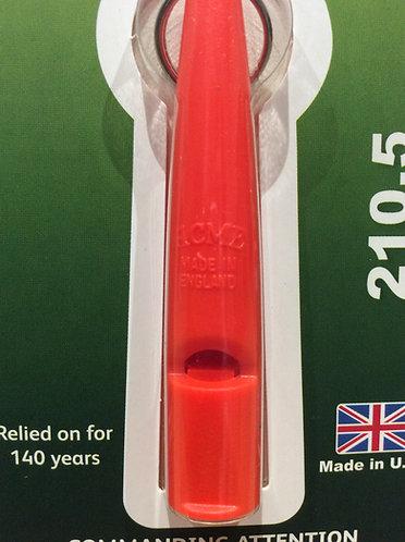 Acme dog whistle 210.5. Orange
