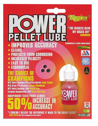 NAPIER POWER PELLET LUBE DROPS 10ML OR SPRAY 25ML