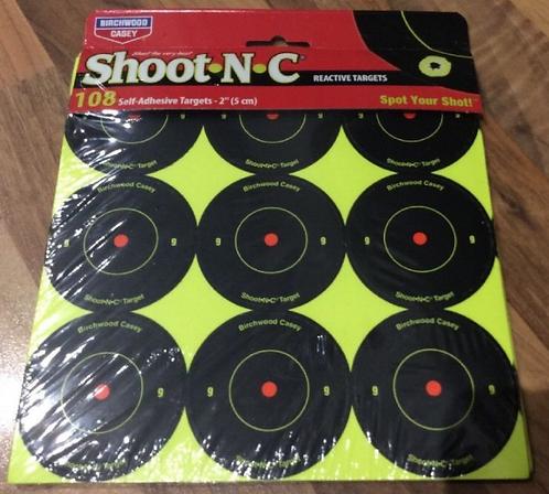 12PACK SHOOT N C 2 INCH TARGETS