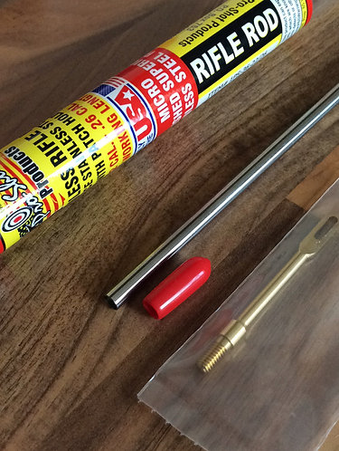Pro Shot Rifle Cleaning Rod .22 to .26 cal