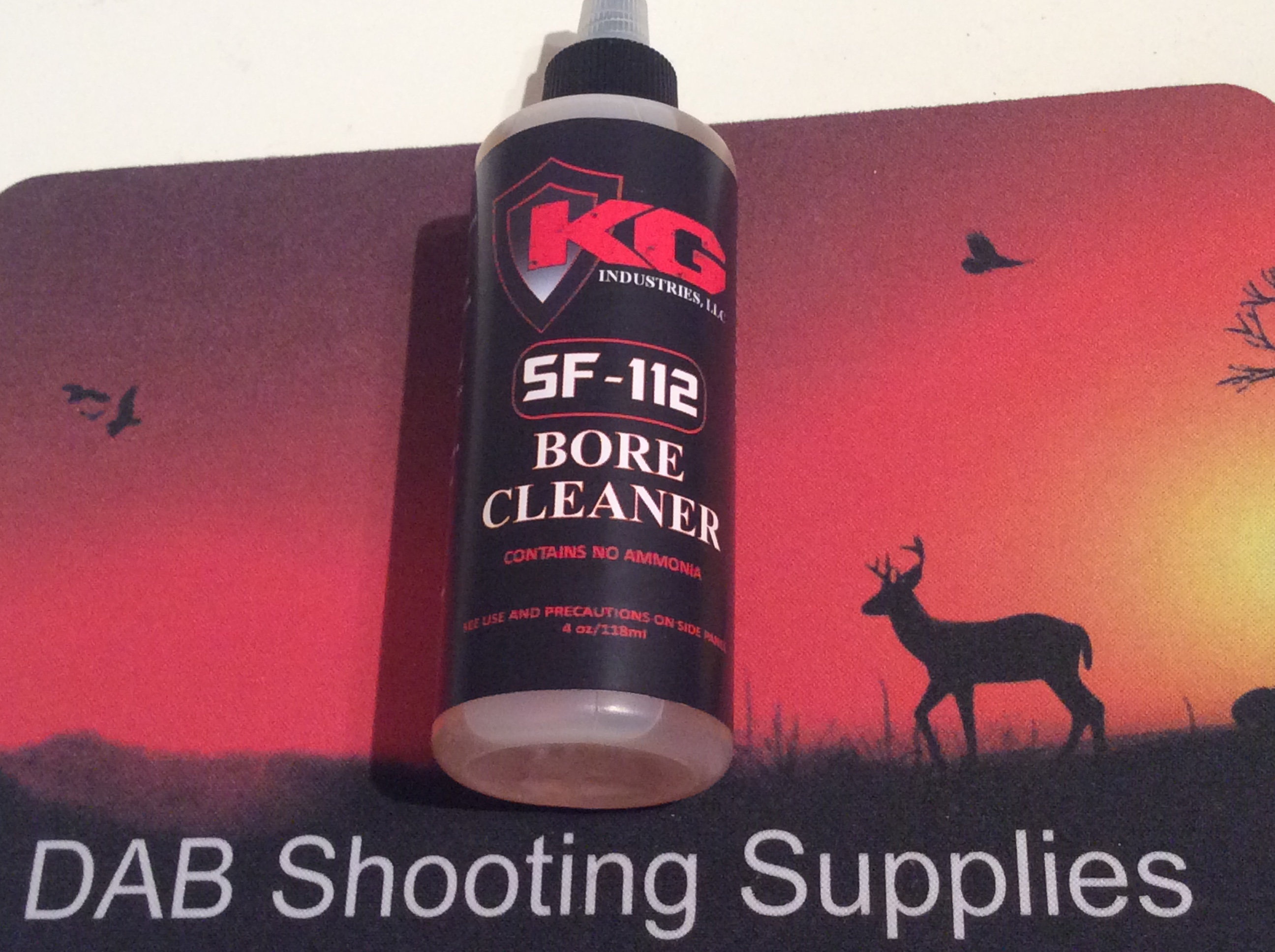 KG 112 GUN OIL AND CLEANING  BEST ON MARKET