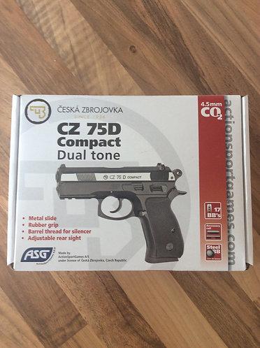 CZ 75D Air Pistol BB. Co2 power