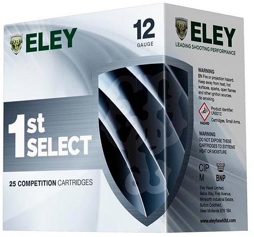 ELEY SELECT 1ST SHOTGUN CARTRIDGES