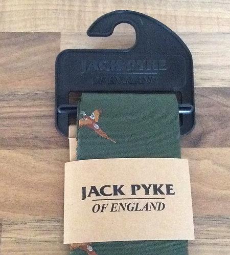 Jack Pyke Pheasant pattern green Tie