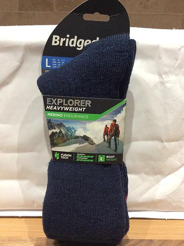 Bridgedale Merino Heavyweight Winter Socks NAVY