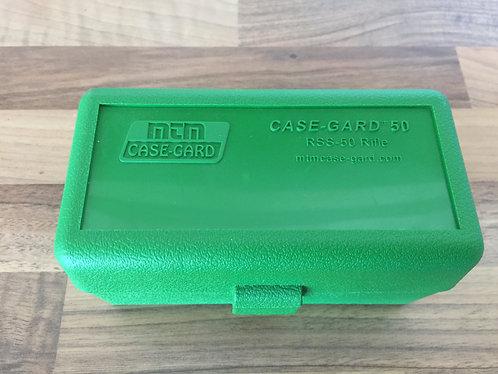MTM CASE GARD RS 50 RIFLE AMMO BOX