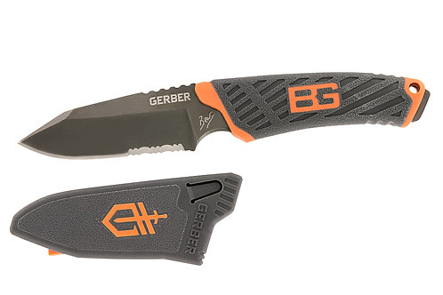 BEAR GRYLLS COMPACT FIXED BLADE KNIFE