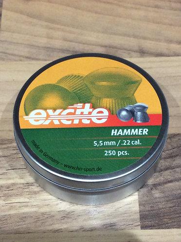 H&N Excite Hammer 22 cal Pellets